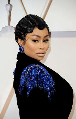 Blac Chyna at the 92nd Academy Awards held at the Dolby Theatre in Hollywood, USA on February 9, 2020.