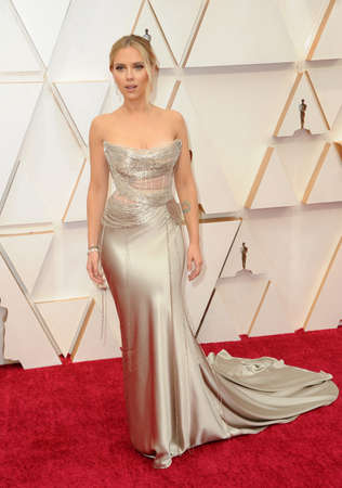 Scarlett Johansson at the 92nd Academy Awards held at the Dolby Theatre in Hollywood, USA on February 9, 2020. Editorial