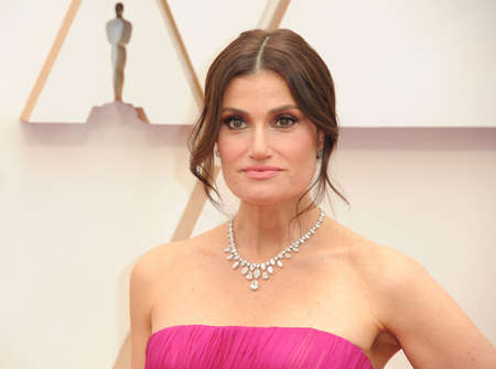 Idina Menzel at the 92nd Academy Awards held at the Dolby Theatre in Hollywood, USA on February 9, 2020.