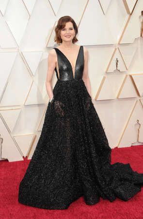 Geena Davis at the 92nd Academy Awards held at the Dolby Theatre in Hollywood, USA on February 9, 2020.