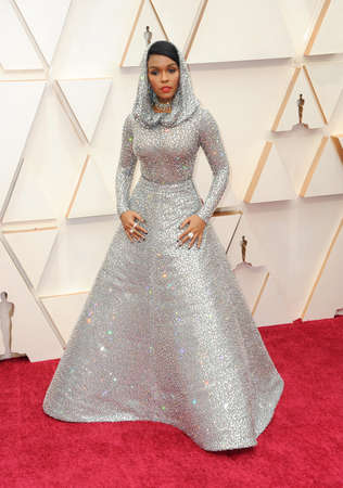 Janelle Monáe at the 92nd Academy Awards held at the Dolby Theatre in Hollywood, USA on February 9, 2020.