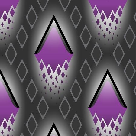 forme: Texture vectorielle continue avec motif diamant diagonale.