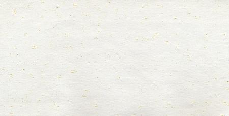 Foglio di carta vuoto con piccoli grani gialli. Archivio Fotografico