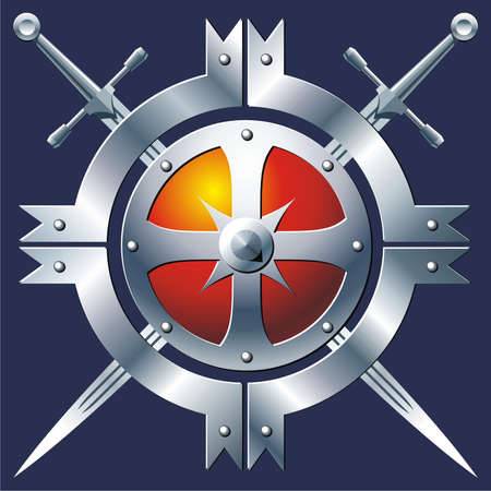 escudo militar: Insignia