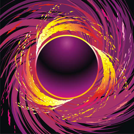 fire circle: Fire circle Illustration