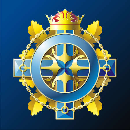 NAVY style badge Vector