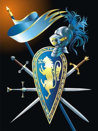 Heraldic background