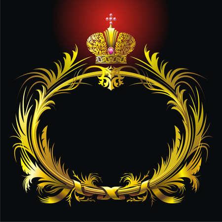 lustre: Garland and crown Illustration