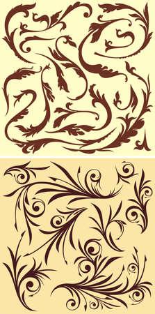 crocket: Floral elements for design