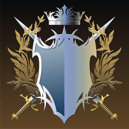 Military emblem Illustration