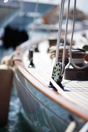 sailboat race: Boating detail