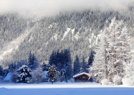 alpine house photo