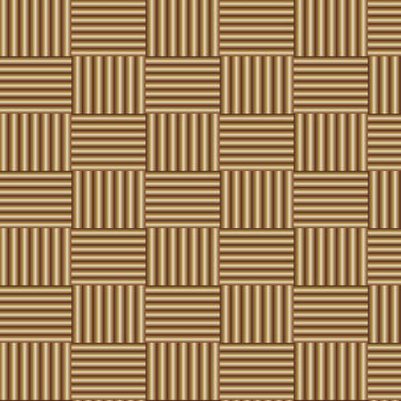 basket weaving: Abstract decorative wooden textured basket weaving background. Seamless pattern. Vector.