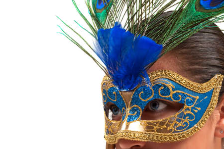 masquerade masks: Italian hand painted mask