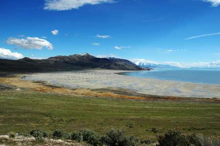 Great Salt Lake in Utah photo