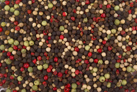 Various of peppercorns (background)