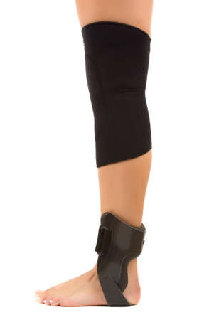 Sports Injury( Patella knee support and ankle brace)