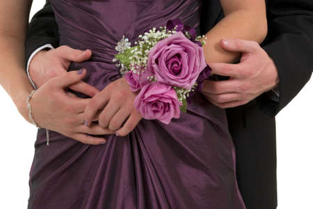 Prom or wedding corsage photo