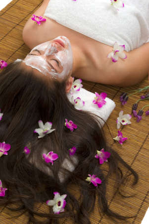 Facial and body care (spa treatment)