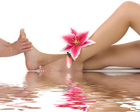 reflexologie plantaire: Massage th�rapeutique
