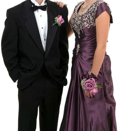 Prom oder Hochzeit Standard-Bild