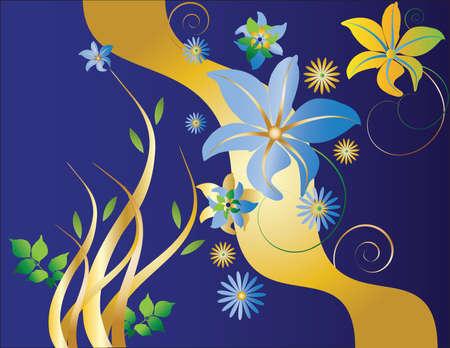 Beautiful floral background Stock fotó - 4254626