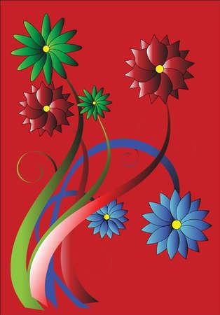 Flowers 向量圖像
