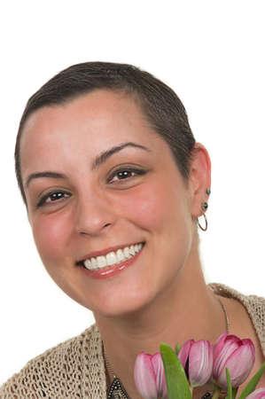 美しい癌の生存者 (化学療法後 2 ヶ月)