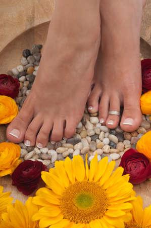 Spa treatment ( pedicure) photo