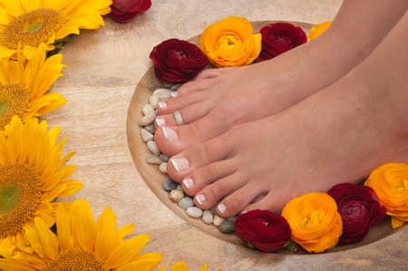 Spa treatment and aromatherapy photo