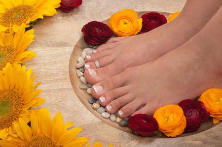 Spa treatment and aromatherapy photo