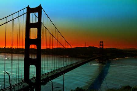 Golden Gate Bridge in San Fransisco