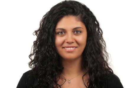 middle eastern woman: Middle Eastern woman with a beautiful smile