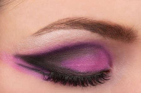 Eye and eyebrow make up