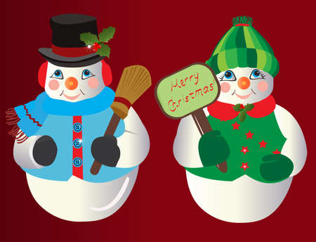Snowman Christmas ornaments  photo