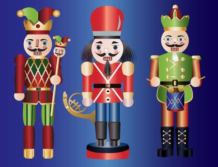 the nutcracker: Christmas nutcrackers