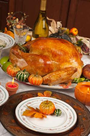 感謝祭のお祝いとディナー