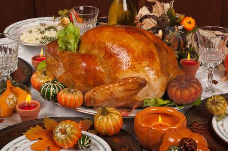 感謝祭のお祝いやディナー