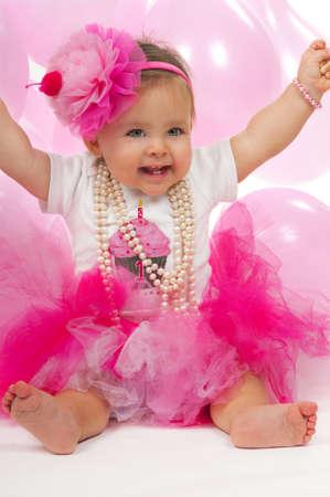 1 歳の誕生日赤ちゃん