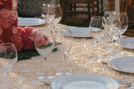 테이블 장식