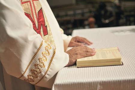 priest hands