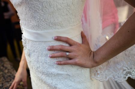 details of a wedding day Banco de Imagens