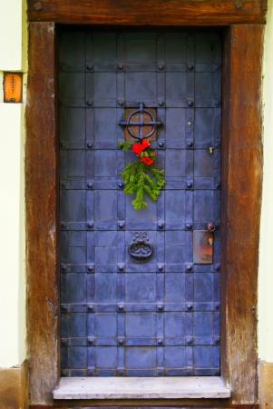 Christmas doors photo
