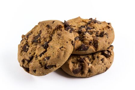 fresh and crunchy chocolate-chip cookies