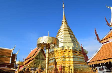 doi: Wat Prathat Doi Suthep Stock Photo