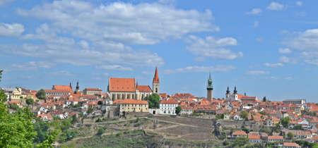 Cityscape of Znojmo in Czech Republic