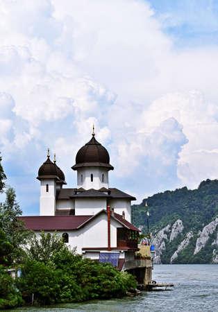 Mraconia Monastery in Romania Reklamní fotografie