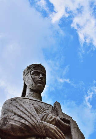 Statue of Gisela of Hungary, wife of the first king of Hungary