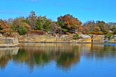 View of Halibut Point, Massachusetts, USA