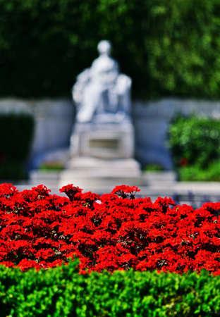 Statue of Empress Elisabeth of Austria in Vienna